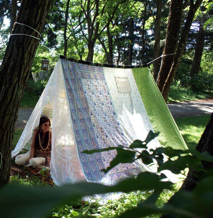 Bohemian Festival Tent canopy gypsy hippie boho chic zen meditation coachella kids tea party glamping shade shelter lace vintage tapestry by KittyLovesLou on Etsy https://www.etsy.com/listing/240321023/bohemian-festival-tent-canopy-gypsy