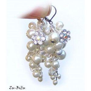 Svadobné náušnice Ivory perly