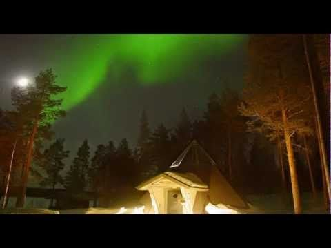 Breathtaking video of Auroras in Finland.