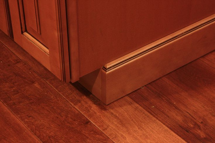 Image result for base toe kick on end panel | Kitchen ...