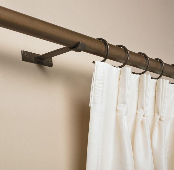 Cool Drapery Rods Design: Interior Modern Curtain Rod LUX ...
