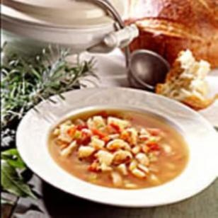 Chicken Soup with Provençal Herbs: Using dried beans instead of ...