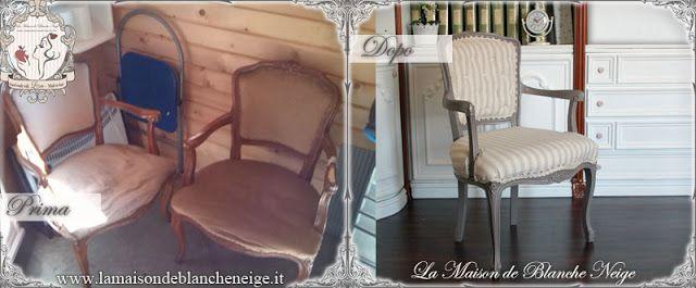 shabby chic armchairs renovation