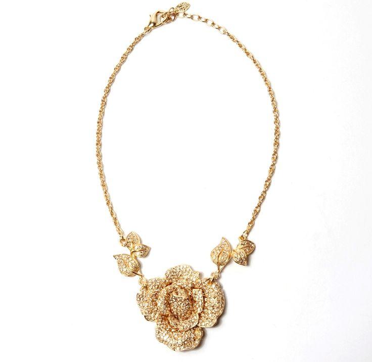 Wedding Rose Gold Necklace