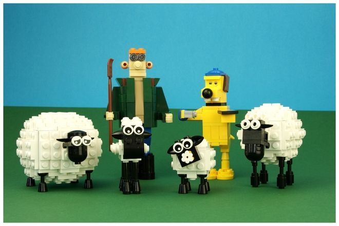 """He doesn't miss a trick or ever lose a beat"" - Who, do you ask? Why, it's Shaun of course. Shaun the Sheep and his friends from the Mossy Bottom farm. There's the farmer in h..."
