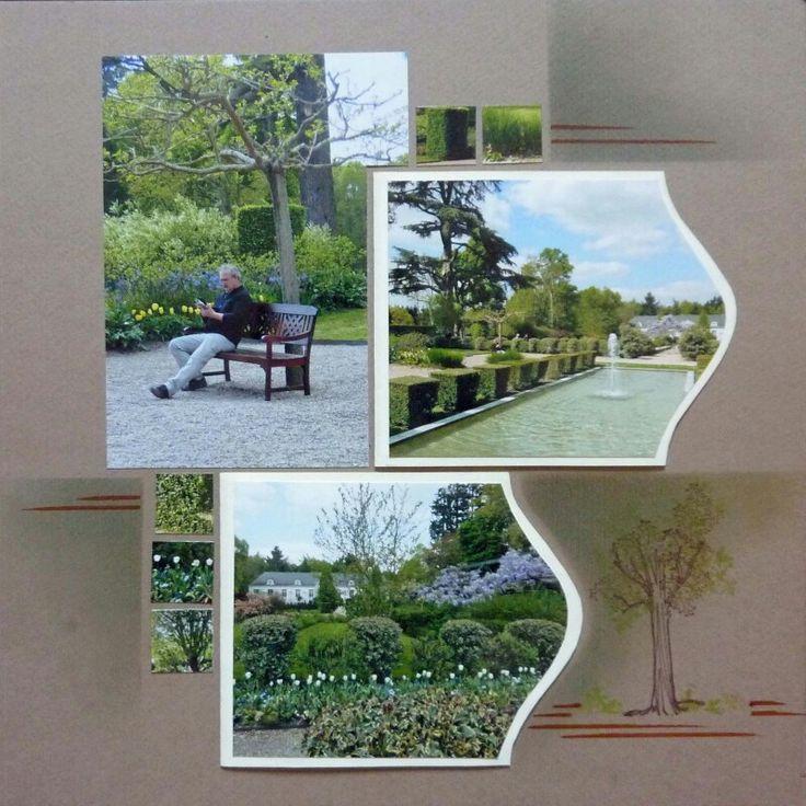 Pause au jardin de cheverny ...par eolia eolia gabarit seing stiches de Lea France