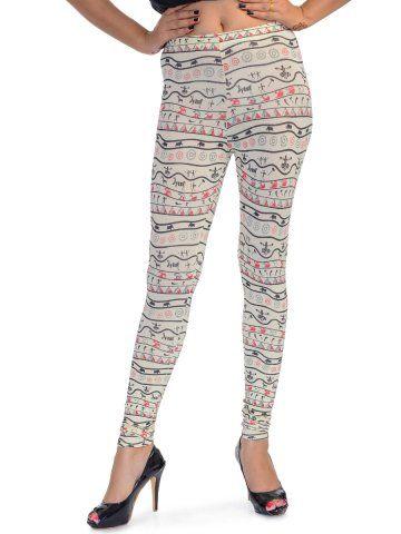 e981e3cd51006a Femmora White Ankle Length Leggings - | 1049 | Leggings & Jeggings ...