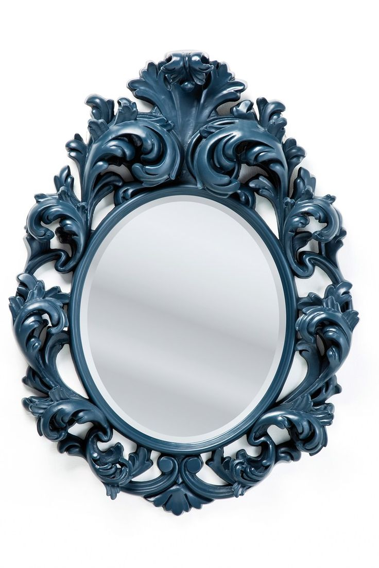 Specchio in stile barocco a parete Barocco Black by KARE-DESIGN
