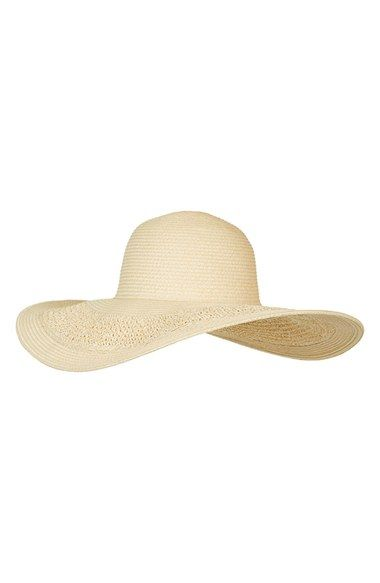 crochet floppy hat / topshop