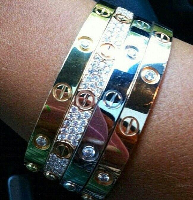 Cartier bracelets... mmmmmmmm