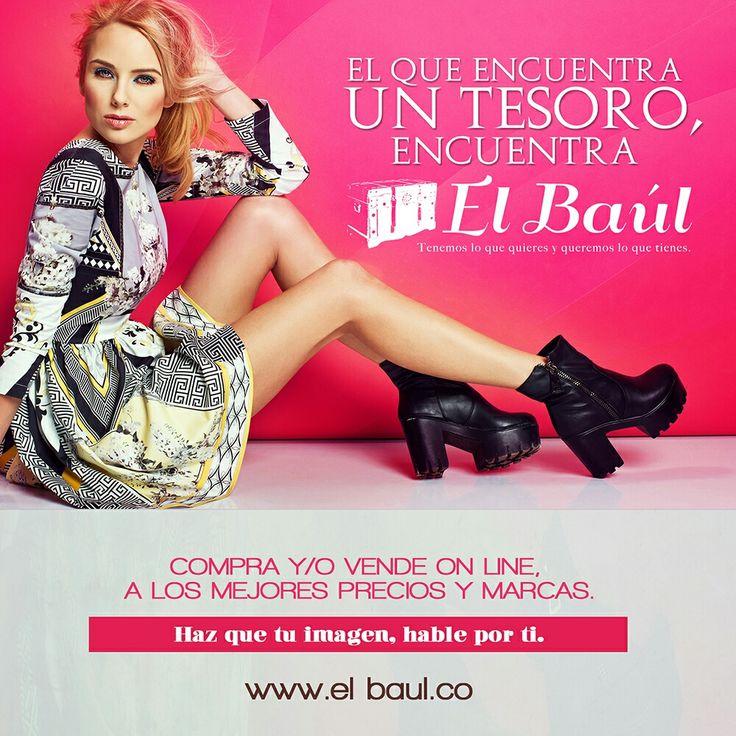 Descubre nuestro tesoro has que tu imagen hable por ti.  http://elbaul.co