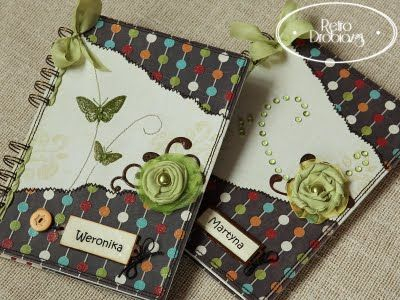 Scrapbooking - notesy dwa.