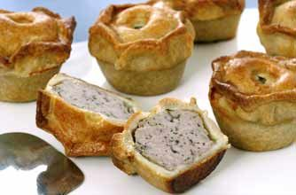 With their tasty filling and golden pastry, homemade pork pies are the perfect packed lunch or picnic treat. Learn how to make a pork pie with this easy recipe