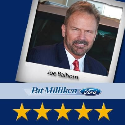 Pat Milliken Ford would like to recognize the continued efforts of Joe Balhorn! Another valued member of our team, Joe is a perfect example of how dedication and a tireless work ethic can make a world of difference when working with customers here at Pat Milliken Ford. Thanks for all your hard work, Joe!