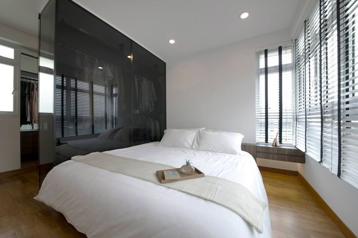 Master bedroom view with walk in wardrobe