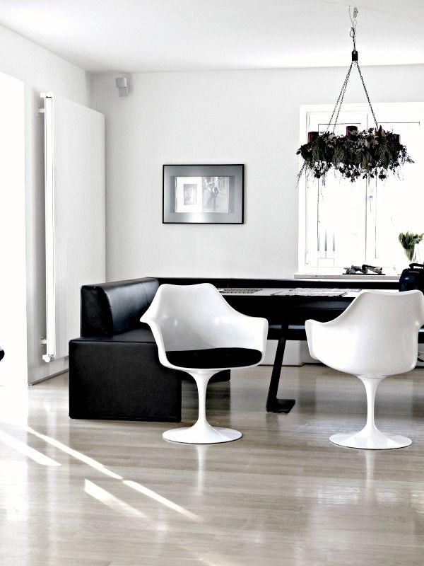 Black and white.  Meidän harmoniaa / miimman.blogspot.fi