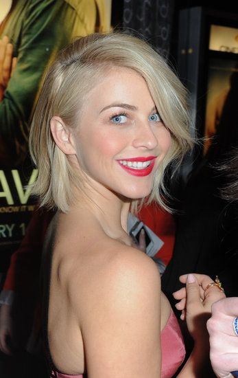 Julianne Hough Proves How Versatile a Bob Can Be: At the Toronto premiere of Safe Haven in January, Julianne's hair was full of bouncing body with a deep side part.