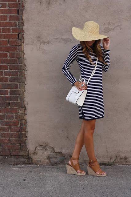 Dressed in Stripes with Mott 50 - Twenties Girl Style