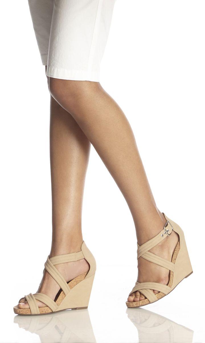 Best 25  Nude wedges ideas on Pinterest   Wedge heels, Beige ...