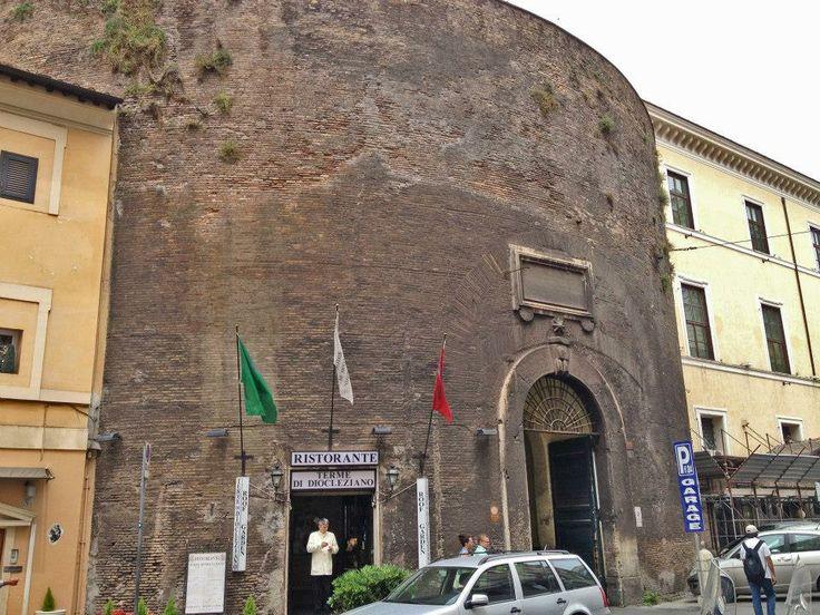 Ristorante Terme di Diocleziano, Via del Viminale 3, Rome