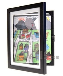 "The fastest, easiest way to ""frame"" children's art.  Each frame stores up to 50 pictures."