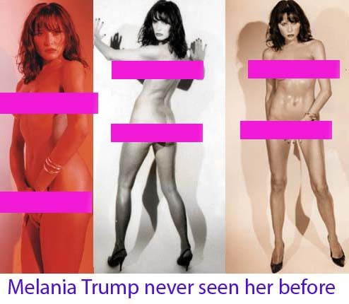 NAKED DONALD TRUMP WIFE MELANIA TRUMP vs MICHELLE OBAMA FIRST SEX LADY