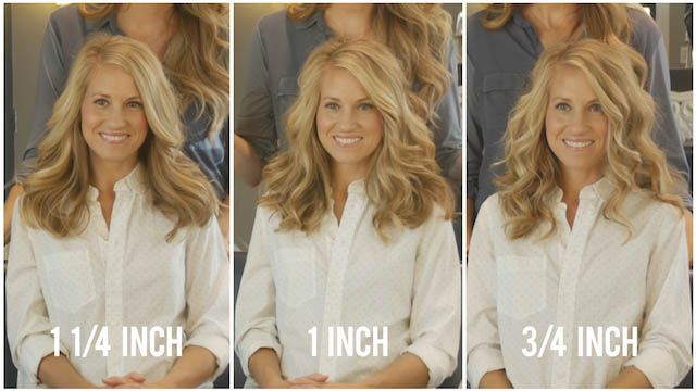 CURL SERIES:  HOW TO PICK YOUR CURLING IRON BARREL SIZE