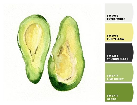 Avocado - Paint colors from Chip It! by Sherwin-Williams