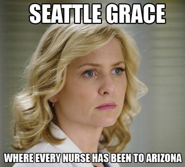 I shouldn't have laughed, but I am very mad at Arizona, so what the hell?