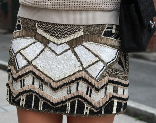 Fall Outfit. Fall skirt.: Miniskirt, Minis Skirts, Fashion, Dreams Closet, Sequins Skirts, Beads Skirts, Street Style, Fall Outfit, Fall Skirts
