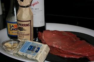 CrockPot Blue Cheese & Steak Roll Ups