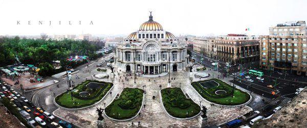 Palacio de bellas artes, Ciudad de México // Uno de mis lugares favoritos :)