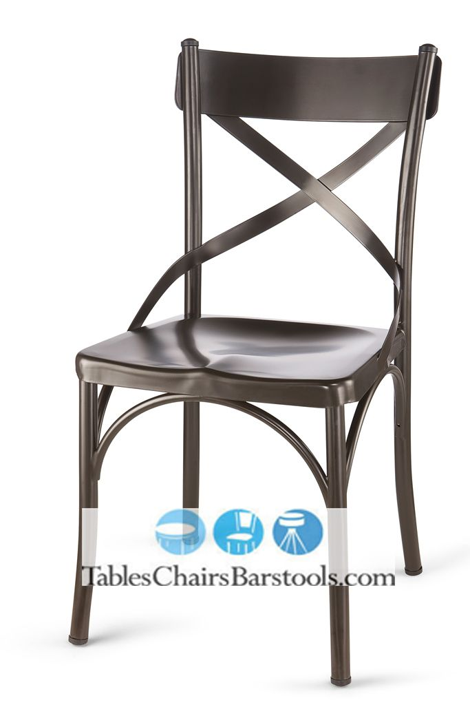 Bouchon Steel Cafe Chair With Rust Finish (Limited Lifetime Frame Warranty)    Bar U0026 Restaurant Furniture, Tables, Chairs, And Bar Stools