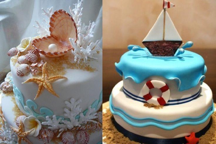 Торт в морском стиле 2