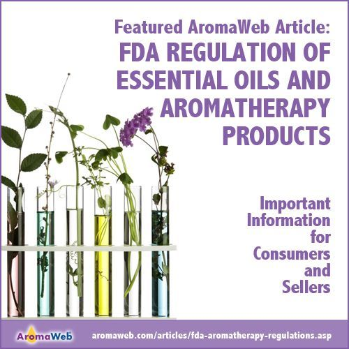 Regulations for aromatherapy products