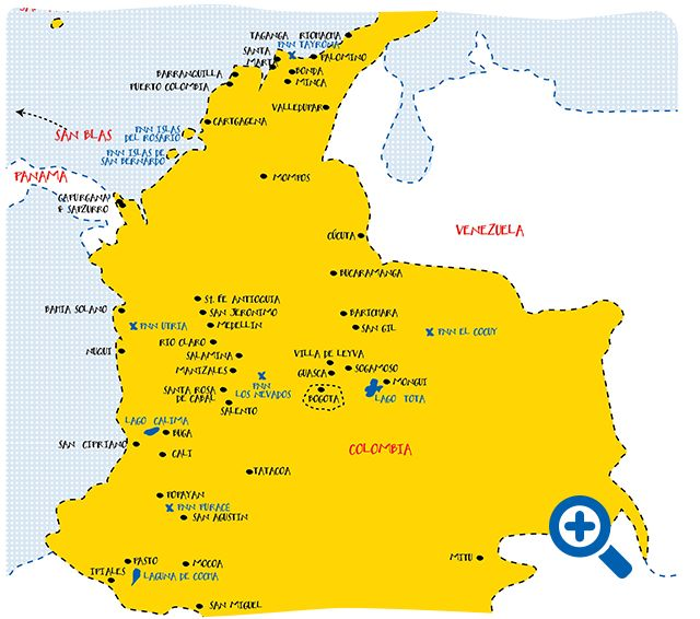 travel guides colombia tips