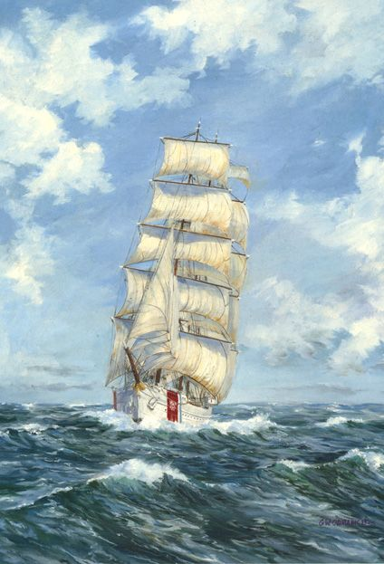 Tall ships paintings - Bing Images