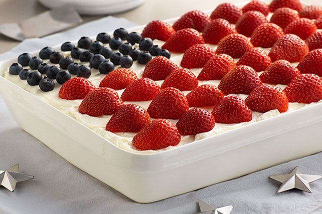 This video shows you how to make our Wave Your Flag Cheesecake—a classic for Memorial Day, Fourth of July and BBQs all season long.