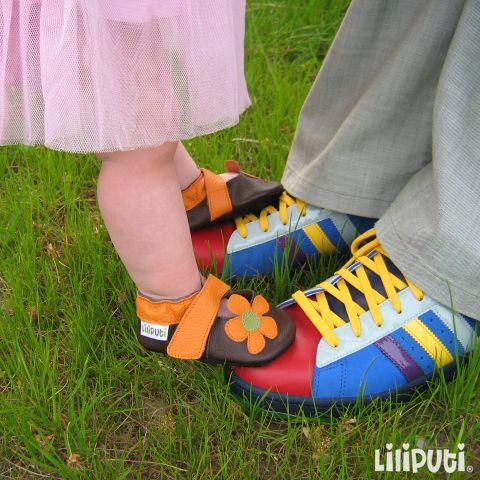 Daddy's little princess  #SoftLeatherBabyShoes #LiliputiStyle