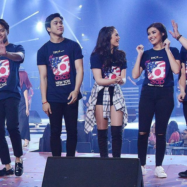 Love Teams #Kathniel #Elnella & #LizQuen #ASAPLiveInNewYork Photo by…
