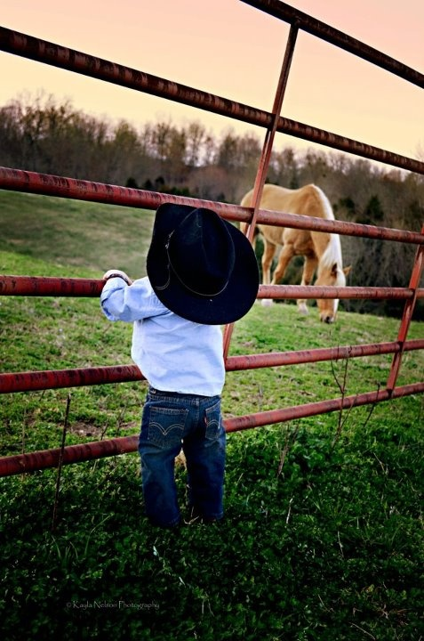 one of my most favorite little cowboys on earth :)