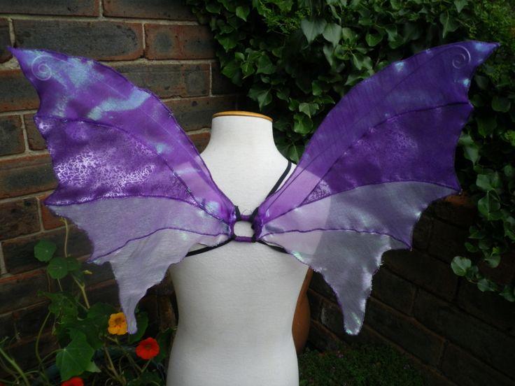OOAK unico viola iridescente Fata ali fata bosco Costume di Fairytrade su Etsy https://www.etsy.com/it/listing/155571397/ooak-unico-viola-iridescente-fata-ali