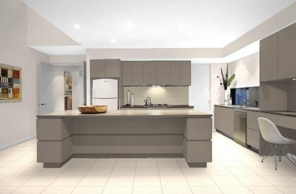 Interior Kitchen Colour Selection Done With Haymes Paint Virtual Designer Walls White