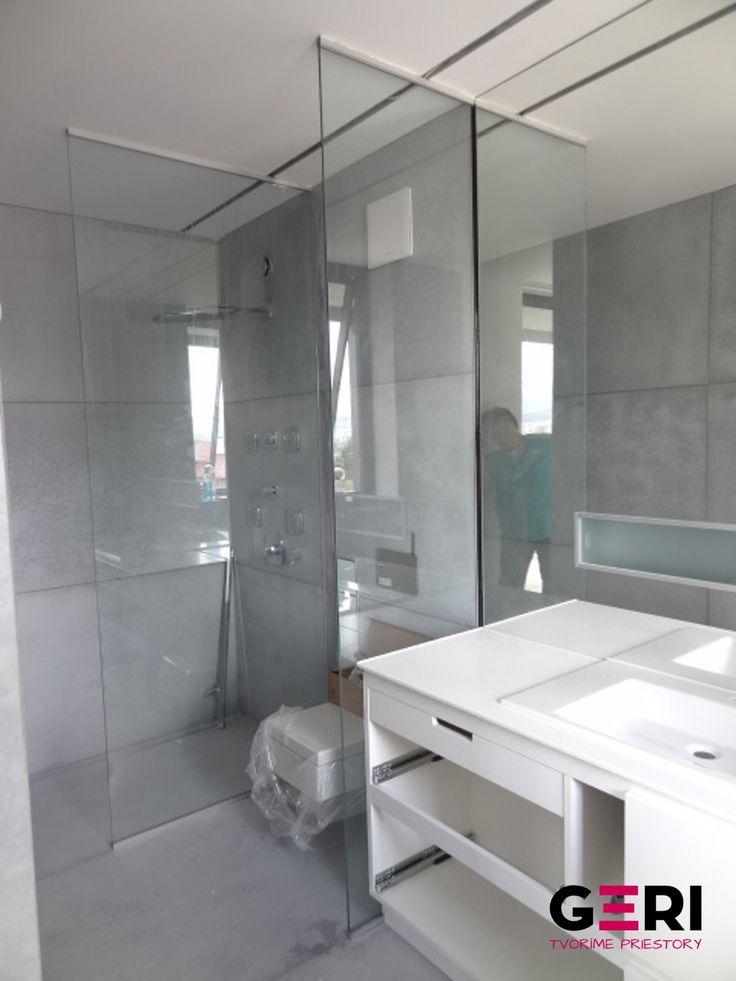 Sklenená sprchová zástena, Banská Bystrica