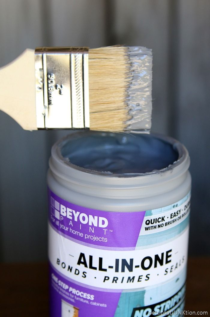 Beyond Paint For Furniture: No Sanding Or Priming