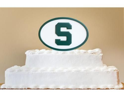 Michigan State University Cake Topper Decorative Bakery Topper