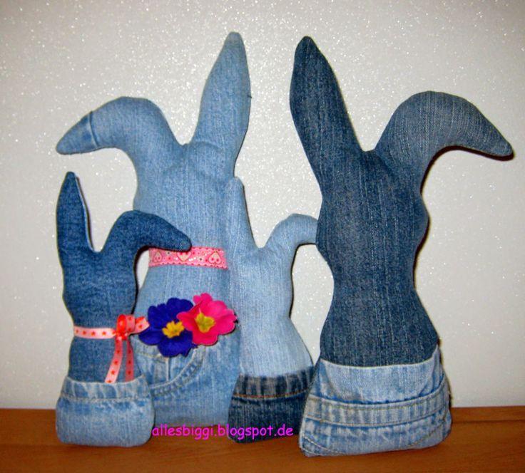 alles biggi!: Jeans-Osterhasen