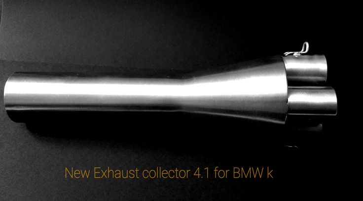 exhaust collector for bmw 4.1 cafe racer k 100