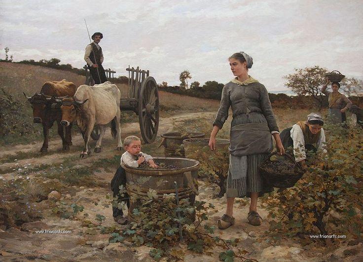 Édouard Debat-Ponsan: Realismo naturalista - Trianarts