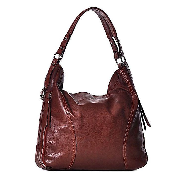 SARA je kabelka z pravej kože. Kabelka má zapínanie na zips Po bokoch kabelky sú zipsy, ktoré sa dajú zapnúť. Výhodou kabelky je kožené ramienko cez plece. Vnútro kabelky tvoria dve komory a dve malé vrecká, z ktorých jedno má zapínanie na zips.